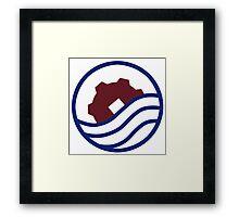 Korrasami Logo Framed Print