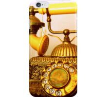 Antique Call... South Africa (Antique Telephone) iPhone Case/Skin