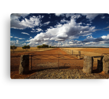Avenue of Clouds Canvas Print