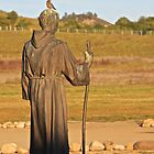 Father Junipero Serra  (and friend) by John Butler