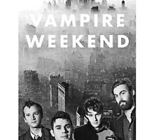 Vampire Weekend Case  by studiodopeness