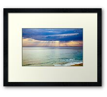 Sun of Portsea Framed Print