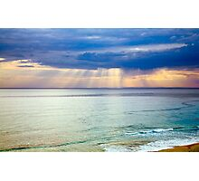 Sun of Portsea Photographic Print