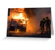 Ablaze Greeting Card