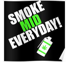 CS:GO - SMOKE MID EVERYDAY with Leaf! Poster