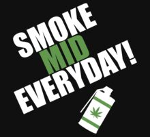 CS:GO - SMOKE MID EVERYDAY with Leaf! by The Flaming  Potato