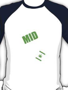 CS:GO - SMOKE MID EVERYDAY with Leaf! T-Shirt