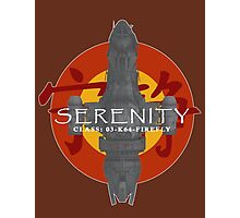 SERENITY - CLASS: 03-K64-FIREFLY Photographic Print