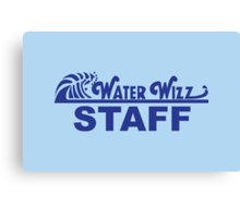 Water Wizz - STAFF Canvas Print
