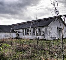 the old schoolyard by budrfli
