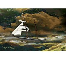 Mary Celeste 1872 - all products bar duvet Photographic Print