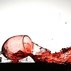 Smashing Wine Glass by matthurstphoto