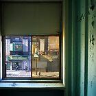 View from Divine Lorraine Hotel, Philadelphia PA by matthurstphoto