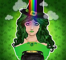 Leprechaun lady 2 by AnnArtshock