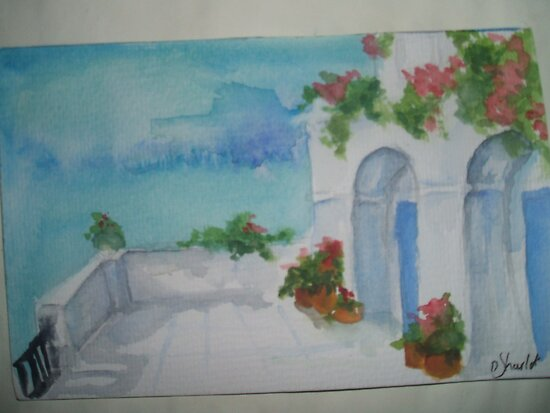 Mediterranean Terrace? by Dani Louise Sharlot