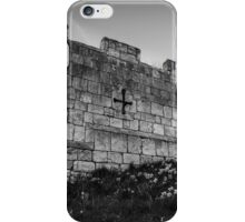 Daffodils and City Walls iPhone Case/Skin