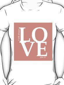 love 3 T-Shirt