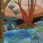 Kondalilla - Middle Falls by Brett Campbell