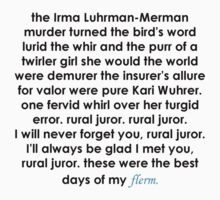Rural Juror Lyrics Kids Clothes