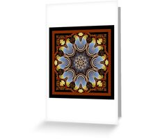 The Star Watcher's Shawl Greeting Card