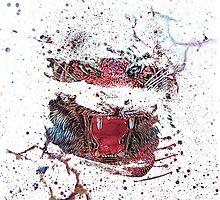 LSD Tiger by Ryan Swannick