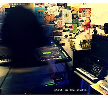 Ghost in the Studio by blackberrymoose