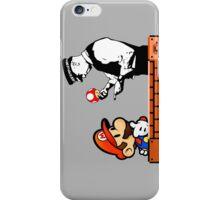 Super Mario In Trouble iPhone Case/Skin