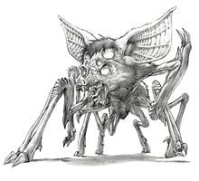 The Balinese Screaming Spiderbat by Gregory Titus