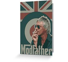 Weller - Modfather Greeting Card