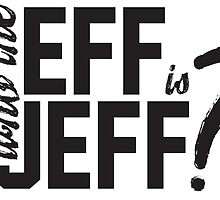"""Hank Green - """"Who The Eff Is Jeff?"""" (Games With Hank inspired) by rainingonsunday"""