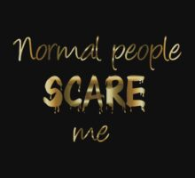 Normal people by TriciaDanby