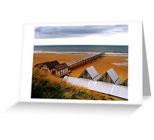 Saltburn Pier Greeting Card