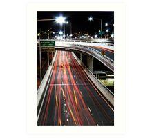 Freeway Art Print