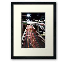 Freeway Framed Print