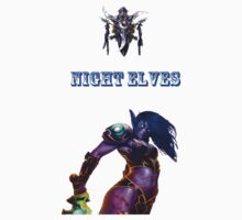 Night elf Kids Clothes