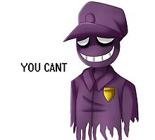 Purple Man by ShinyhunterF