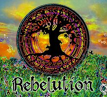 Rebelution Tree of Life 'Bright Side of Life' Beautiful Artwork by capartwork