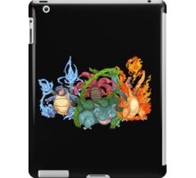 Pokemon Gen I Starters iPad Case/Skin