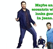 Shawn Spencer: an eccentric who looks good in jeans by kelsiroth2