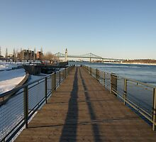 The Boardwalk in Old Montreal by Moxy