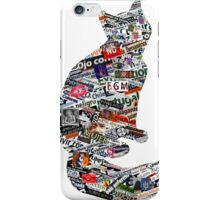 A cat can be much more than a cat! iPhone Case/Skin