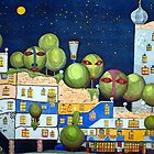 Hundertwasser House by Gaby Schrott