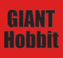 Giant Hobbit: The Battle of the Five Armies - T-Shirt Sticker T-Shirt