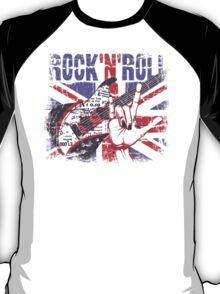 Rock n Roll Union Jack T-Shirt