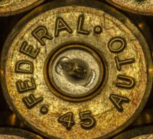 45 Brass #2 Sticker