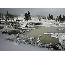 Yellowstone in Winter Photographic Print