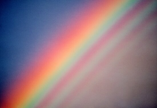 Rainbow with supernumerary bows. by Ern Mainka