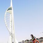 spinnaker tower2 by Richard Edwards