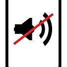 cellphone sound off sign by kislev