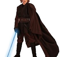 Anakin Skywalker by spectromagiic